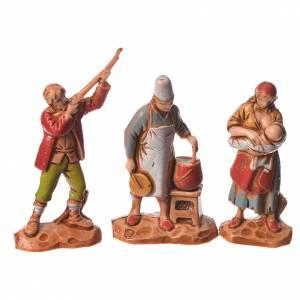 Nativity Scene by Moranduzzo: Nativity Scene characters figurines by Moranduzzo 3.5cm, 6 pieces