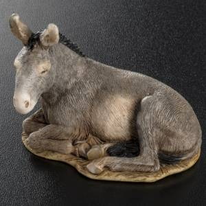Nativity scene figurine, donkey, 11cm by Landi s4