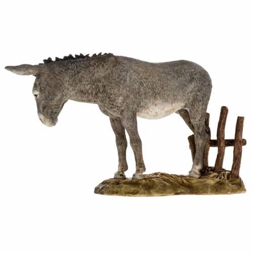 Nativity scene figurine, donkey, 18cm by Landi s4