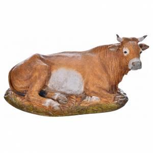 Animals for Nativity Scene: Nativity scene figurine, ox, 18cm by Landi