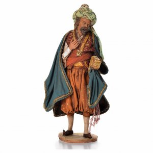Nativity scene figurine, Persian Wise Man 18cm, Angela Tripi s1