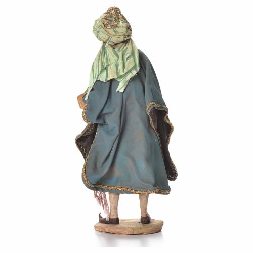 Nativity scene figurine, Persian Wise Man 18cm, Angela Tripi s3