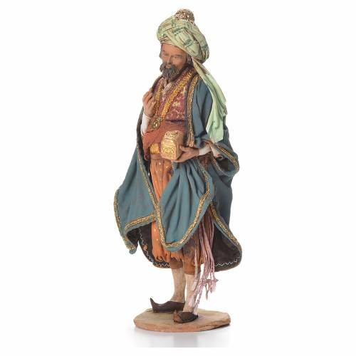 Nativity scene figurine, Persian Wise Man 18cm, Angela Tripi s2