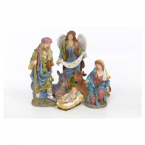 Nativity scene in resin 41cm s5