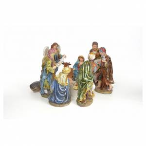 Nativity scene in resin 41cm s4