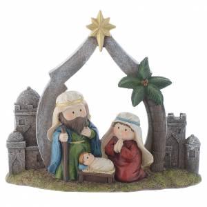 Nativity scene in resin measuring 28cm s1