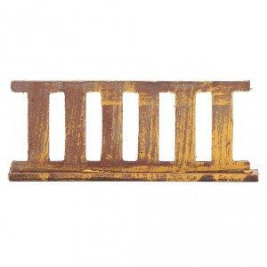 Balustrade, doors, railings: Nativity scene railing 10x5 cm