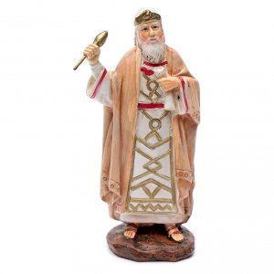 Nativity Scene figurines: Nativity scene resin statue king Herod 10 cm Martino Landi brand