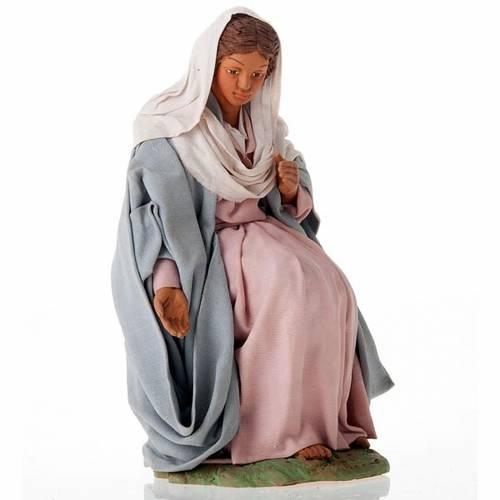 Nativity scene set clay 24 cm tall s3