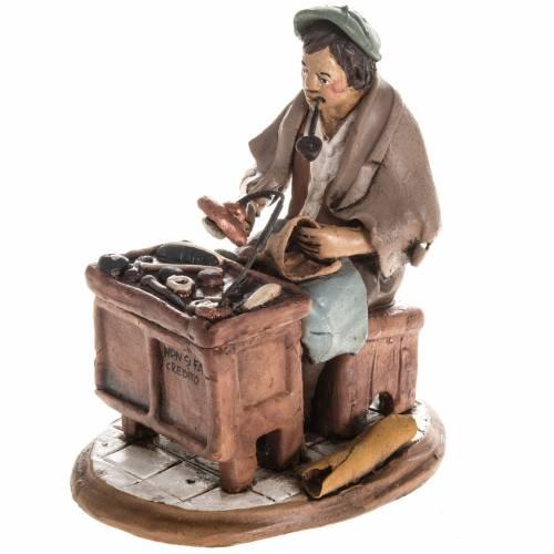 Nativity set accessory, Cobbler clay figurine 18cm s1