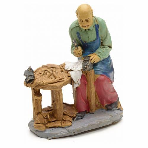 Nativity set accessory, Cobbler figurine 10cm s1