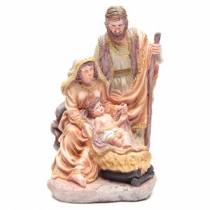 Nativity sets: Nativity set with 3 figurines in resin measuring 40cm