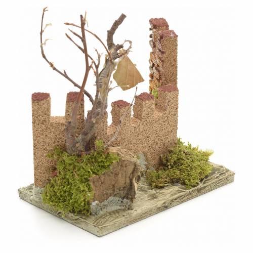 Nativity setting, medieval castle s2