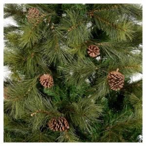 Weihnachtsbäume: Weihnachstbaum grün mit Zapfen 210cm Mod. Innsbruck