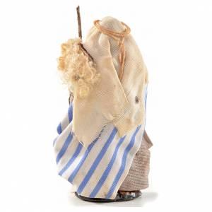 Neapolitan Nativity, Arabian style, man with stick 6cm s2