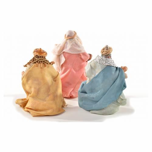 Neapolitan Nativity, Arabian style, three wise kings 6cm s2