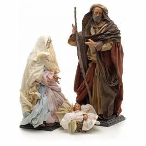 Neapolitan Nativity figurine, Joseph, Mary, baby Jesus, 45 cm s4