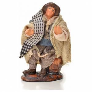Neapolitan Nativity figurine, man sitting, 6 cm s1