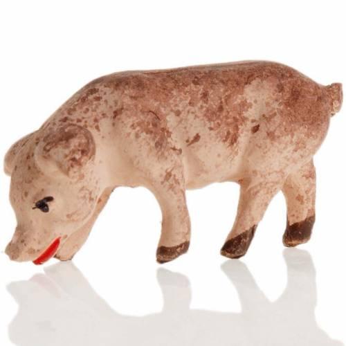 Neapolitan Nativity figurine, Piggy 8cm s2