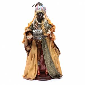 Neapolitan Nativity figurine, three wise kings, 45 cm s4