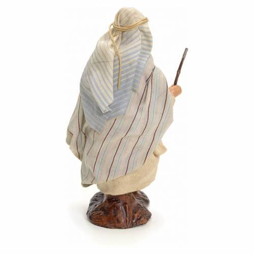 Neapolitan Nativity figurine, traveller, 8 cm s3
