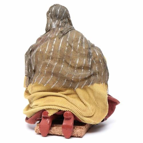 Neapolitan nativity figurine, washerwoman 18cm s4