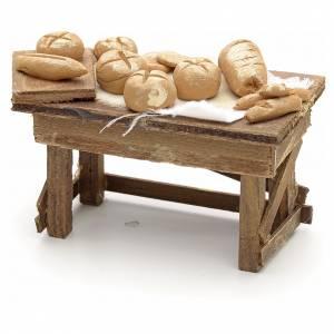 Neapolitan Nativity scene accessory, bread stall s2