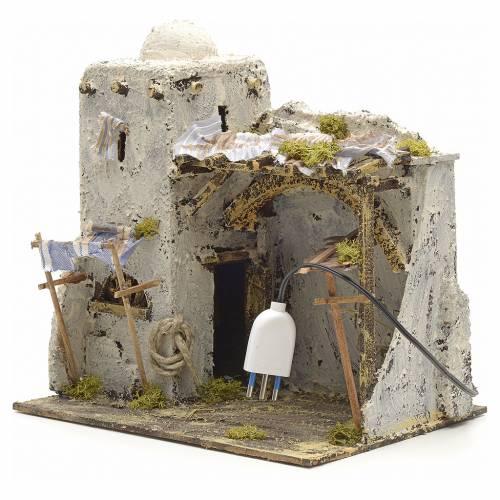 Neapolitan Nativity scene, Palestinian house s4