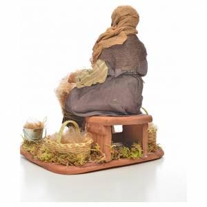 Neapolitan Nativity, sheep shearer, 24cm s3