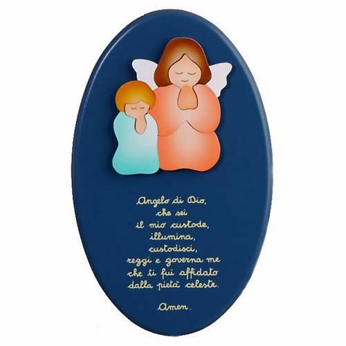 Ángel y niño en oración s1