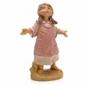Figuras del Belén: Niña pesebre Fontanini 19cm