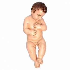 Estatuas del Niño Jesús: Nió Jesús desnudo 50 cm Landi ojos cristal 800 Nap