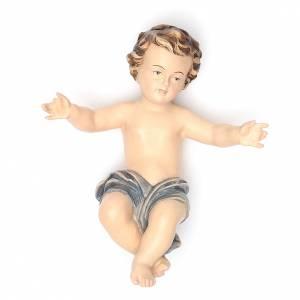 Imágenes en fibra de vidrio: Niño Jesús para belén 20 cm fibra de vidrio