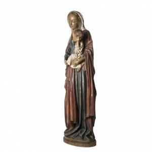 Notre Dame de Boquen 145 cm bois peint Bethléem s3