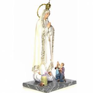 Notre-Dame de Fátima et voyants 120 cm finition élégante s4