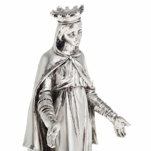 Notre Dame du Liban in metal-coloured resin 16cm s2