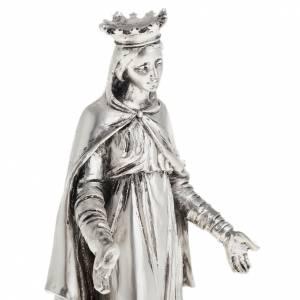 Notre Dame du Liban resina color metallo 16 cm s2