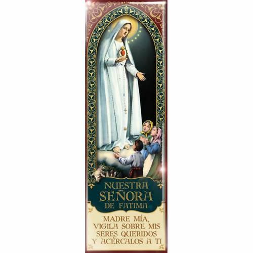 Nuestra Señora de Fatima magnet - ESP 03 1