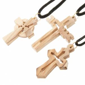 Wooden cross pendants: Olive wood cross