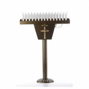 Ambos, Kniebänke, Einrichtungsgegenstände: Opferlichtständer 31 Led-Kerzen