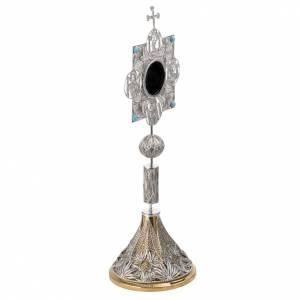 Relicario con cruz, filigrana plata 800 s9