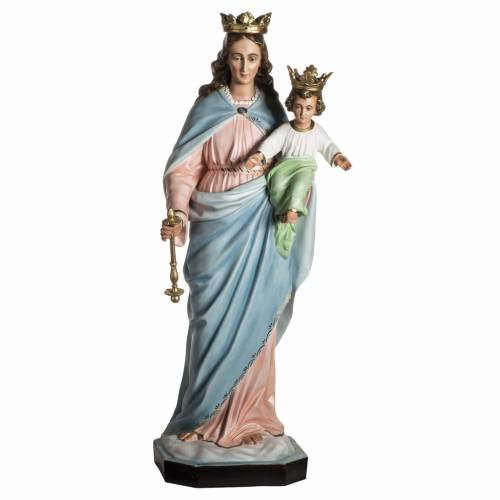 Our Lady Help of Christians statue in resin, 130 cm s1