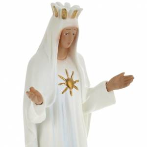 Our Lady of Beauraing statue in plaster, 30 cm s2