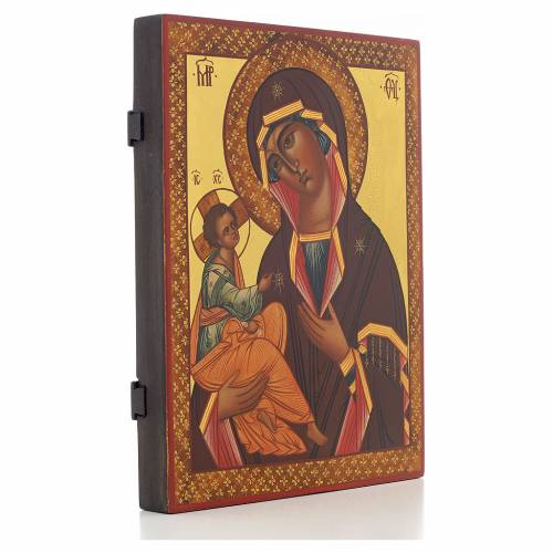 Our Lady of Jerusalem, Russian icon 28x22 cm s2
