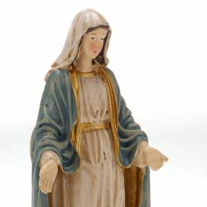 Our Lady of Miracles, resin statue, 20 cm s2