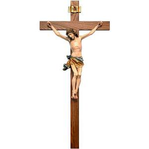 Wooden crucifixes: Painted crucifix straight cross