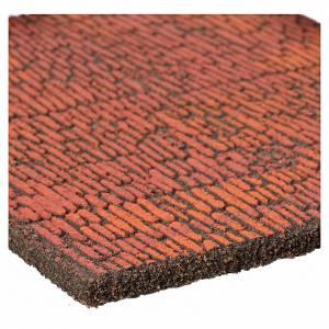 Pannello sughero muro romano 36x23x1 s2