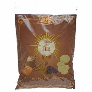 Communion bread and hosts: Particles 3.5cm diameter with closed edges (500 pieces)