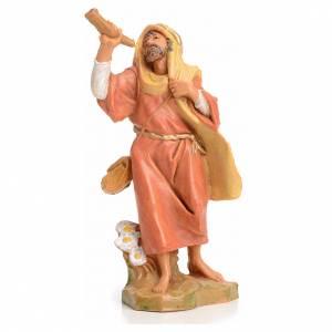 Figuras del Belén: Pastor con el cuerno 6,5 cm Fontanini