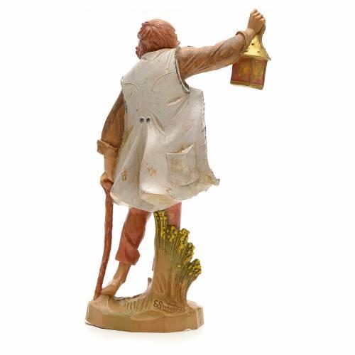 Pastor con linterna 19cm Fontanini s2
